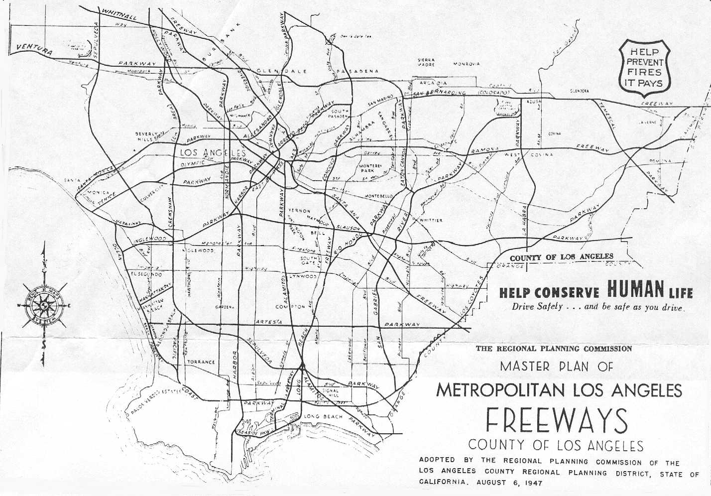Development Of The California Dream    History Of - Los angeles county zoning map